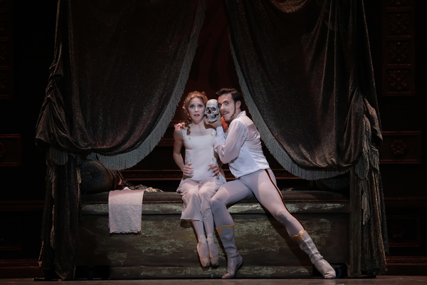 Ballet: Mayerling Choreographer: Sir Kenneth MacMillan Dancer(s): Connor Walsh as Pri Photo