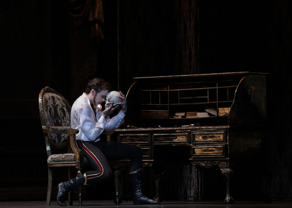 Ballet: Mayerling Choreographer: Sir Kenneth MacMillan Dancer(s): Connor Walsh as Prince Rudolf Photo: Amitava Sarkar Year: 2017