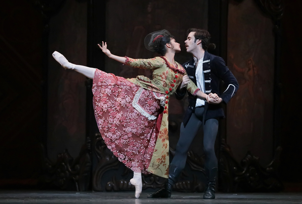 Ballet: Mayerling Choreographer: Sir Kenneth MacMillan Dancer(s): Karina Gonzalez as Baroness Mary Vetsera and Connor Walsh as Prince Rudolf Photo: Amitava Sarkar Year: 2017