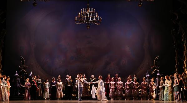 Ballet: Mayerling Choreographer: Sir Kenneth MacMillan Dancer(s): Artists of Houston Ballet Photo: Amitava Sarkar Year: 2017