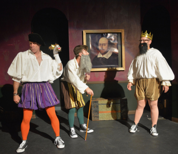 Photo Flash: Ophelia's Jump Presents THE COMPLETE WORKS OF WILLIAM SHAKESPEARE (ABRIDGED)