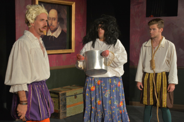 The Complete Works of William Shakespeare (Abridged) presented by Ophelia's Jump. Photo by Gracie Arvizu