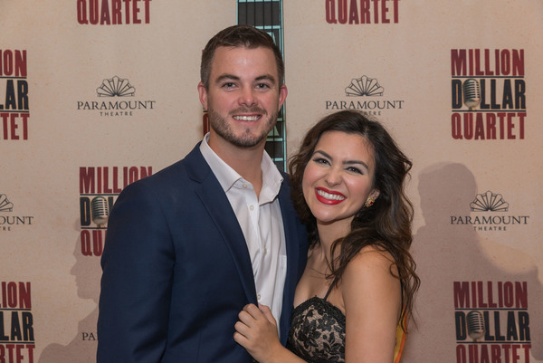 BWW Photo Exclusive: MILLION DOLLAR QUARTET Celebrates Opening at the Paramount