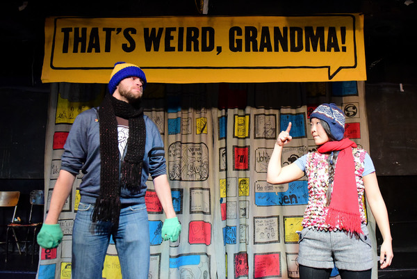 Photo Flash: Barrel of Monkeys presents THAT'S WEIRD, GRANDMA: Holiday Stories