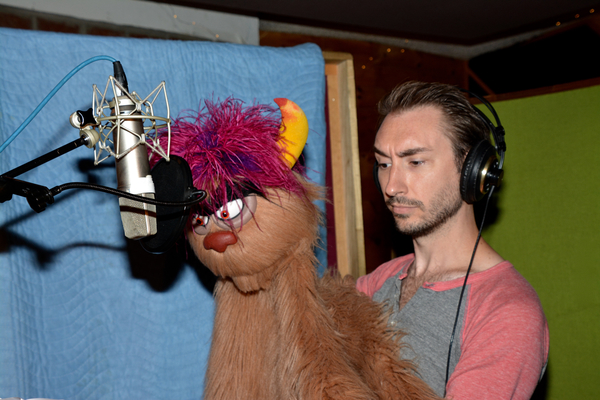 Trekkie Monster and Jason Jacoby