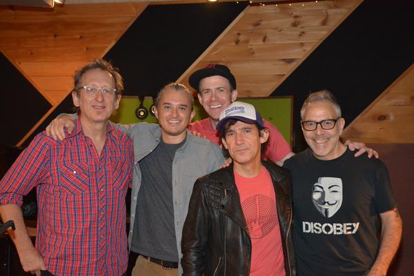 John Putnam (Guitar/Mandolin), Grant Braddock (Drums), Will Van Dyke (Musical Director), Sean Driscoll (Guitar), and Mike Visceglia (Bass)