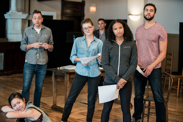 Photo Flash: In Rehearsal with Steppenwolf for Young Adults: THE CRUCIBLE