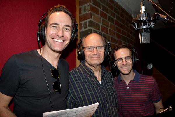 Sean Montgomery, William Parry and Joseph Medeiros