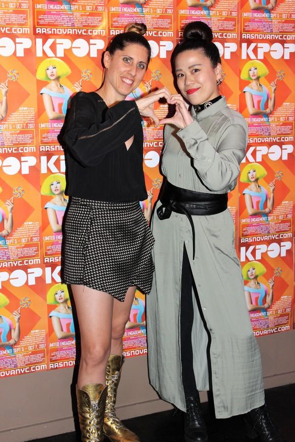 Jennifer Weber and Taeko Koji