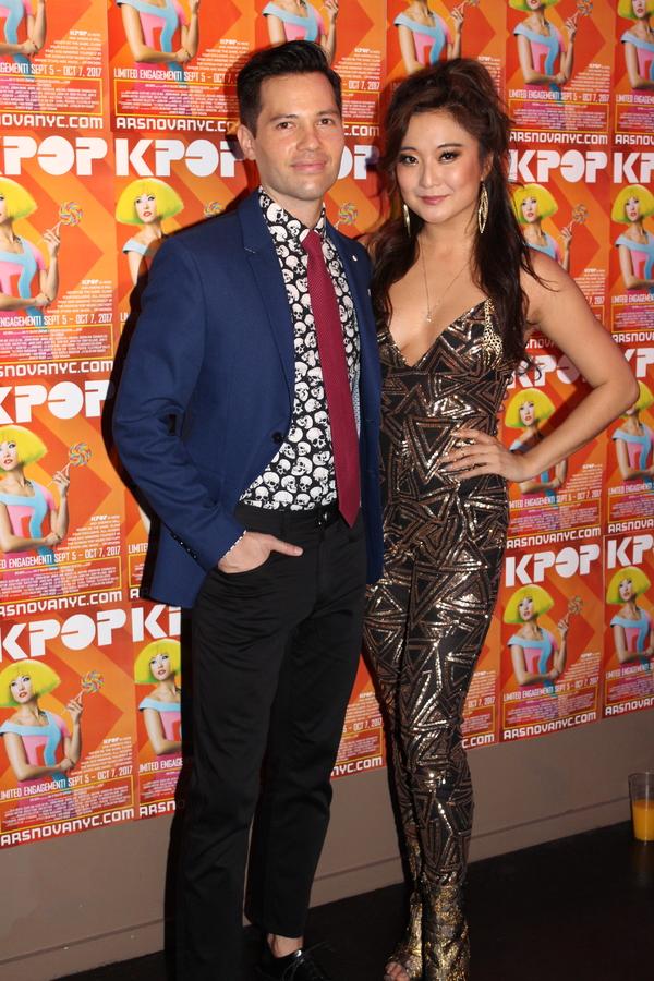 Jason Tam and Ashley Park