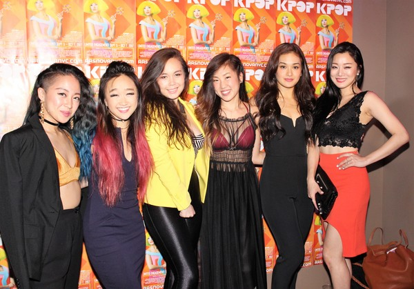 Deborah Kim, Cathy Ang, Katie Lee Hill, Susannah Kim, Julia Abueva and Sun Hye Park