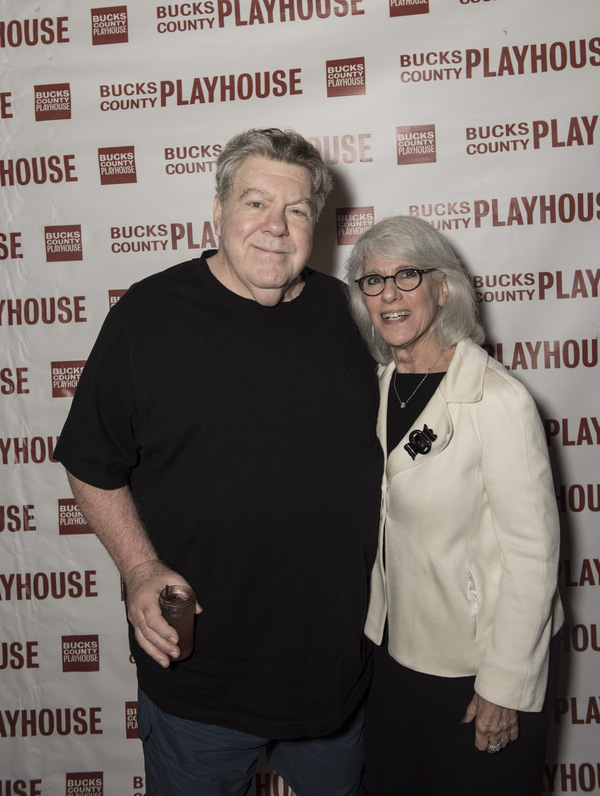 George Wendt and Jamie de Roy