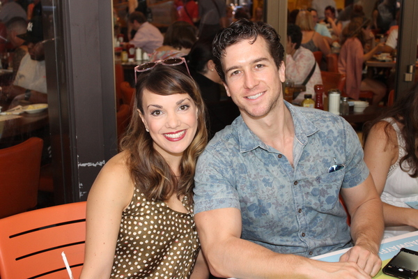 Kara Lindsay and Evan Todd