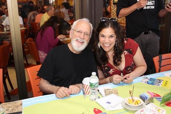 John Rubinstein and Lindsay Mendez