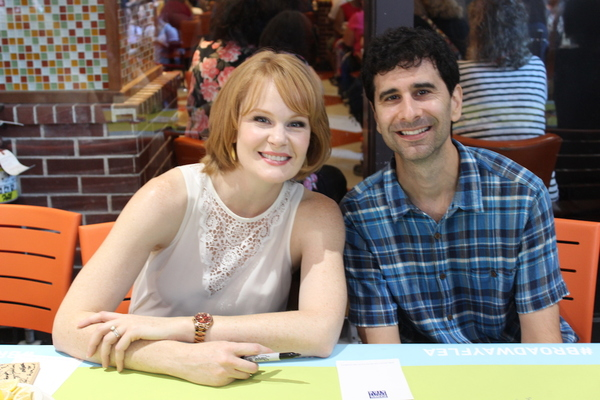 Kate Baldwin and John Cariani