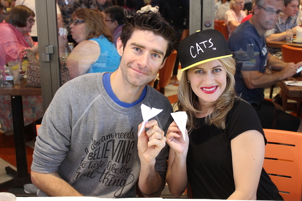 Drew Gehling and Mamie Parris