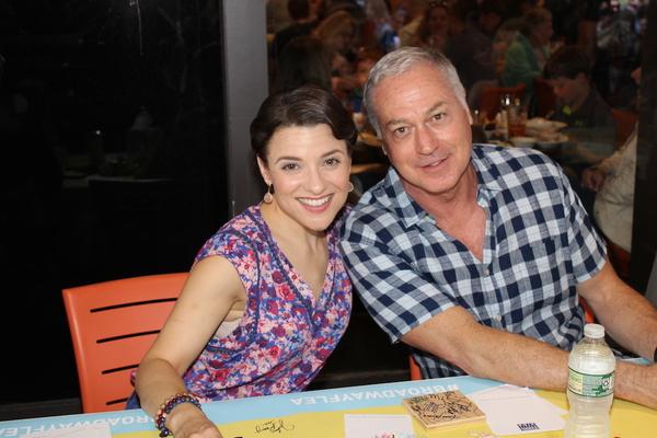 Jenn Gambatese and Tom Hewitt