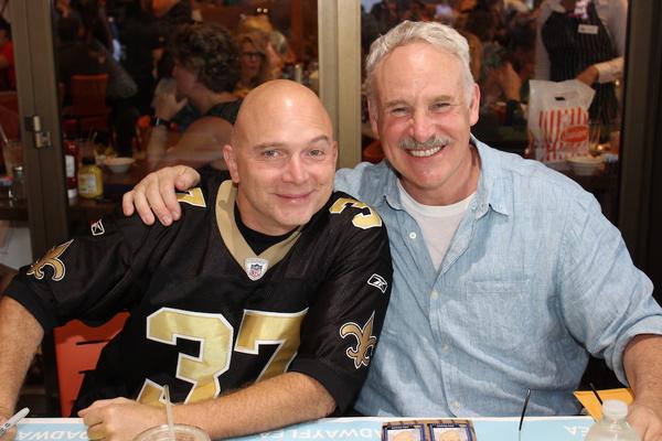 Michael Cerveris and John Dossett