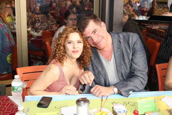 Bernadette Peters and Bryan Batt Photo