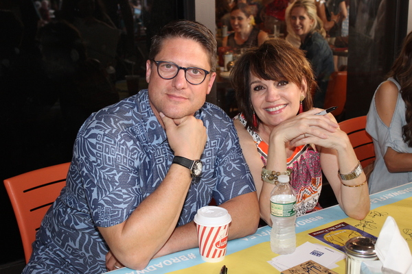 Christopher Sieber and Beth Leavel