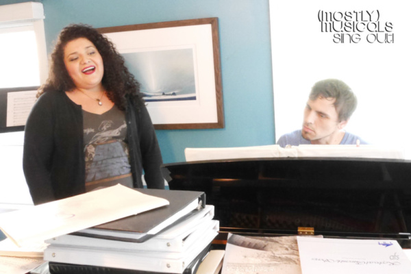 Photo Flash: In Rehearsal With (mostly)musicals, Returning to Vitello's Tonight
