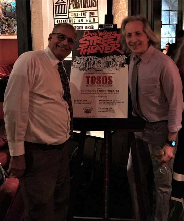 Photo Flash: TOSOS Celebrates Upcoming Season with Benefit at Norwood Club