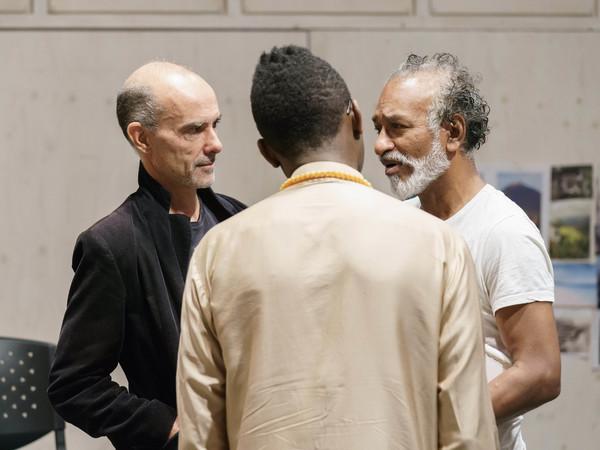 Finbar Lynch, Kwame Kwei-Armah () and Jim Findley