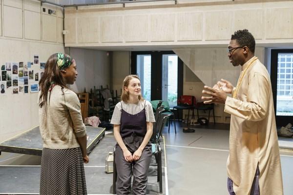 Nikki Amuka-Bird, Helena Wilson, and Kwame Kwei-Armah