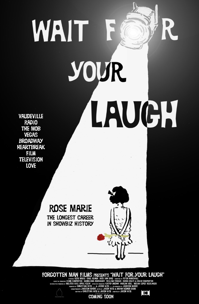 ALL EYES ON ROSE MARIE:  Richard Jay-Alexander Talks to the Legend About 90 Years in Show Business and Her Upcoming Documentary WAIT FOR YOUR LAUGH