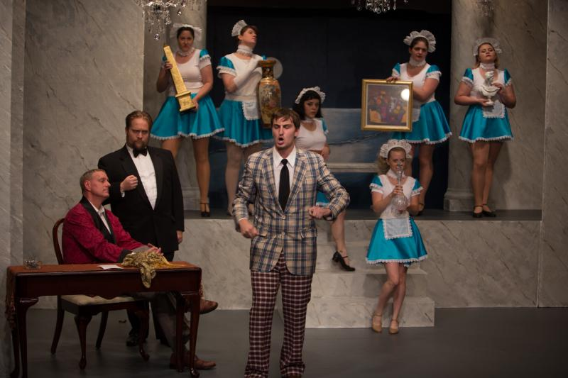 BWW Review: DIRTY ROTTEN SCOUNDRELS at Oyster Mill Playhouse