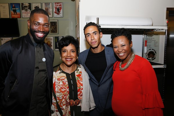 Tarell Alvin McCraney and Phylicia Rashad, Kyle Beltran and Alana Arenas