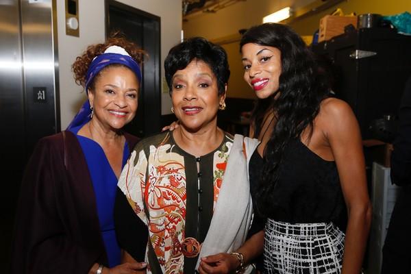 Debbie Allen, Phylicia Rashad and Vivian Nixon