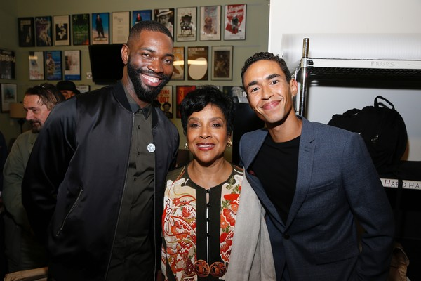 Tarell Alvin McCraney and Phylicia Rashad and Kyle Beltran