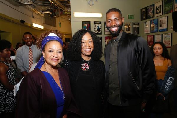 Debbie Allen, Shonda Rhimes and Tarell Alvin McCraney