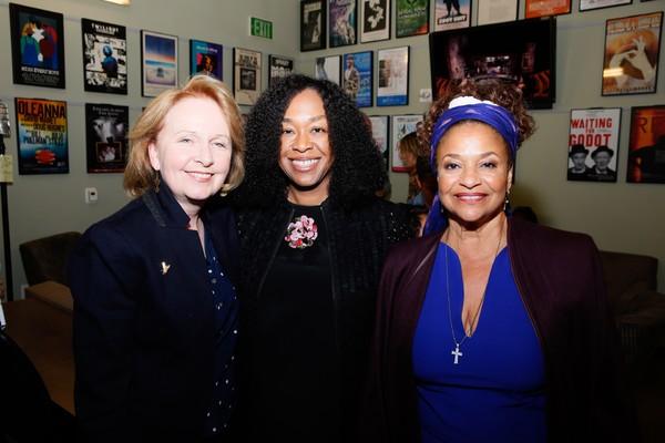 Kate Burton, Shonda Rhimes and Debbie Allen