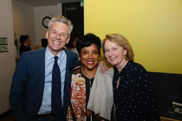 Michael Ritchie, Phylicia Rashad and Kate Burton