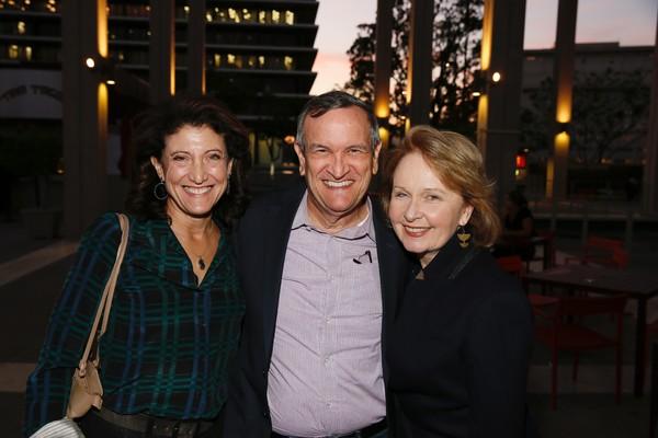 Amy Aquino, Drew McCoy and Kate Burton