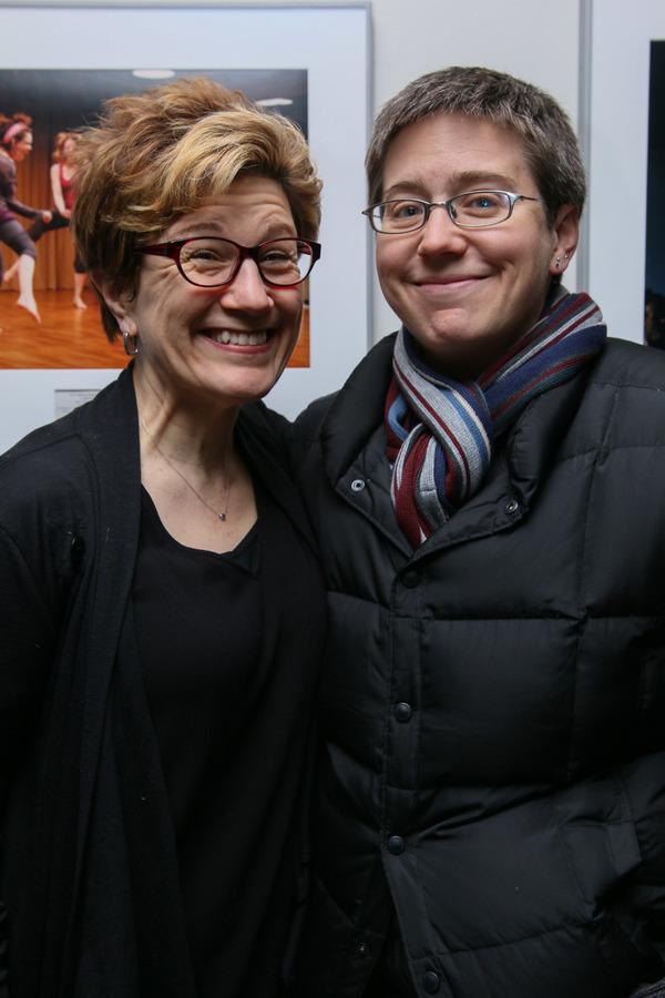 LIsa Kron and Madeleine George