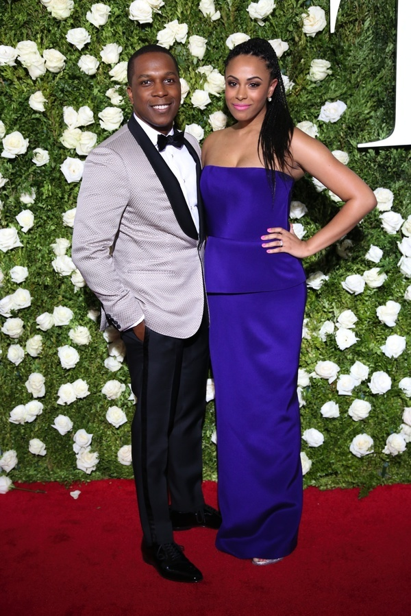 Leslie Odom, Jr. and Nicolette Robinson