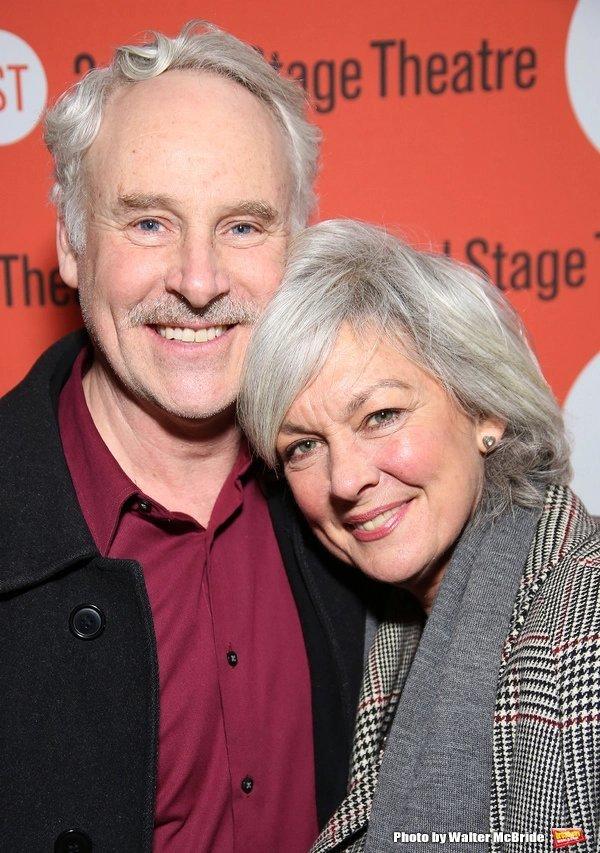 John Dossett and Michelle Pawk