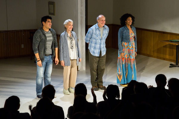 Pun Bandhu, Deanna Dunagan, Peter Friedman, Marinda Anderson Photo