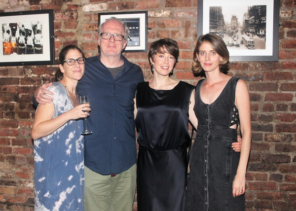 Anne Kauffman, Tracy Letts, Carrie Coon and Amy Herzog