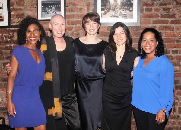 Danaya Esperanza, Brenda Wehle, Carrie Coon, Susan Pourfar and Liza Colon-Zayas