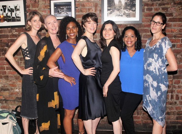 Amy Herzog, Brenda Wehle, Danaya Esperanza, Carrie Coon, Susan Pourfar, Liza Colon Zayas and Anne Kauffman