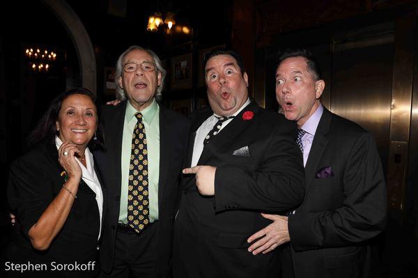 Nancy Lombardo, Robert Klein, Bob Greenberg, George Bettinger