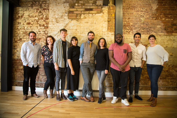 Photo Flash: In Rehearsals for IN EVENT OF MOONE DISASTER at Theatre503