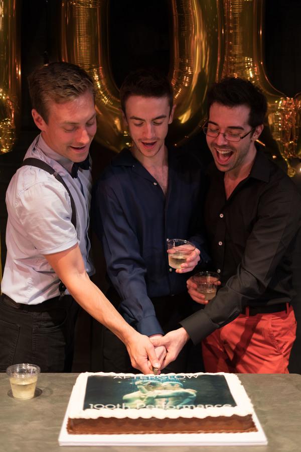 Photo Flash: AFTERGLOW Celebrates 100 Performances Off-Broadway