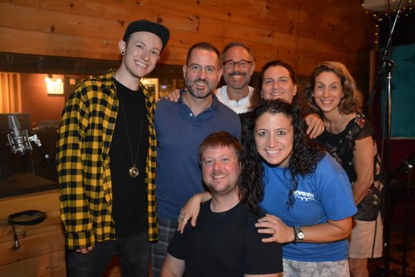 Max Calkin, Brian Taylor, J.J Johnson, David Blinn, Katherine Cherbas, Carla Fabiani and Suzy Perelman