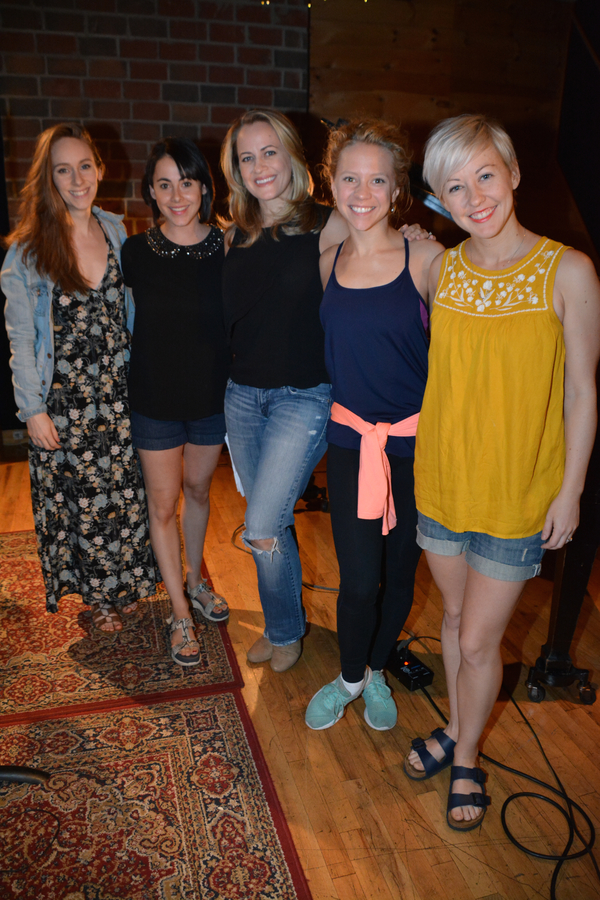 Megan Ort, Maria Briggs, Mamie Parris, Jessica Cohen and Sarah Marie Jenkins
