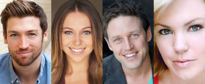 Kevin Aichele, Derek Carley, Robyn Hurder and Jenna Nicole Schoen Headline  FROM HERE TO ETERNITY's North American ...